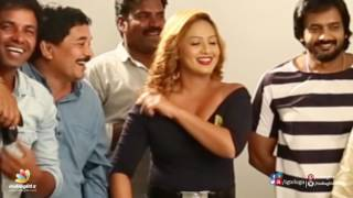 Nikesha Patel hot skin show at Araku Roadlo sets ll Behind the scenes