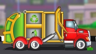 Garbage Truck | Formation And Uses | Kids Educational Video