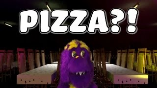 Munch Loves His Pizza!