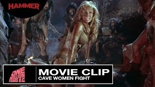 One Million Years BC / Cavewomen Fight (Official Clip)