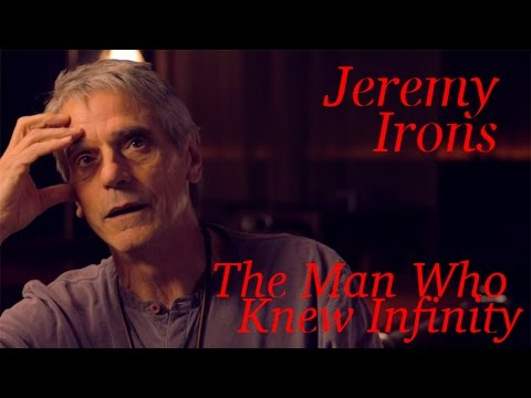 DP/30: An Hour With Jeremy Irons, The Man Who Knew Infinity