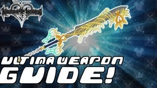 Kingdom Hearts HD 1.5 ReMIX - COMPLETE GUIDE: Ultima Weapon / Item Synthesis / New Heartless (KH Final Mix)