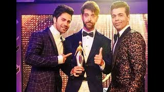 Hrithik Wins Most Glamorous Star Male (2017) !!