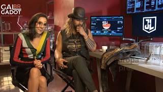 Gal Gadot e Jason Momoa falam sobre Flashpoint - LEGENDADO