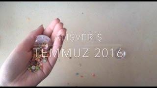 Temmuz 2016 Alışveriş Videosu (Kırtasiye Alışverişi, Kozmetik Alışverişi, Karışık Alışveriş)
