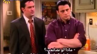 مسلسل فريندز - جوي والثلاجة هههههههه
