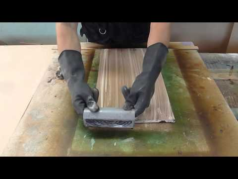 Imitation wood grain Easy Step By Step Luis Lovon