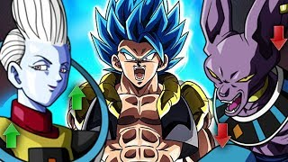 SSB Gogeta Surpassed Beerus and Near Whis Lvl Explained | Dragon Ball Super Broly Movie Discussion