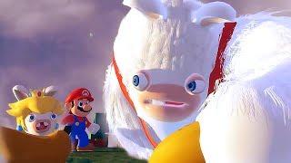 Mario + Rabbids Kingdom Battle All Cutscenes Movie