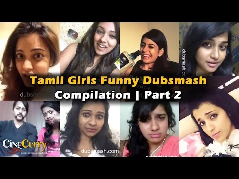 Tamil Girls Funny Dubsmash Compilation | Part 2