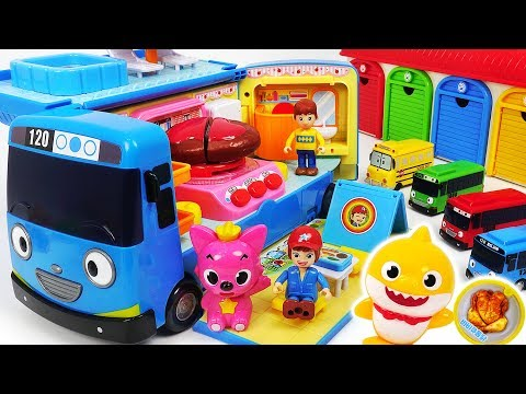 Xxx Mp4 Tayo Let S Turn Into A Camping Bus Let S Go Camping With Baby Shark Pororo PinkyPopTOY 3gp Sex