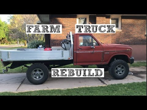 Xxx Mp4 Farm Truck Rebuild Before And After 1985 F250 4x4 73 IDI 3gp Sex