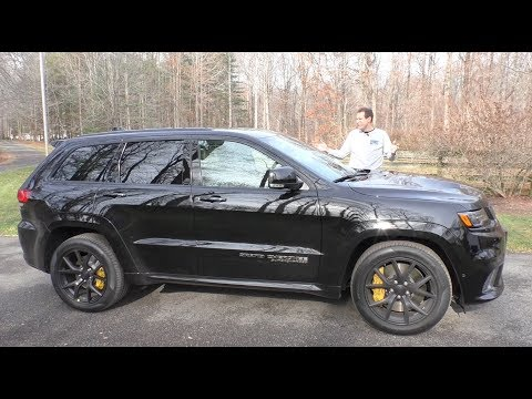 The 100 000 Jeep Trackhawk Is the Most Powerful SUV Ever
