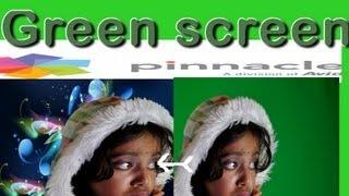 pinnacle green screen fun,bangla hit folk song
