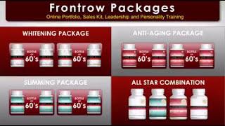 Frontrow International Dubai Business presentation by Queen Mousa