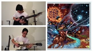 Rings of Saturn - The Heavens Have Fallen (Full Guitar Cover)