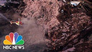 Hundreds Missing In Mud Torrent After Brazil Dam Burst | NBC News