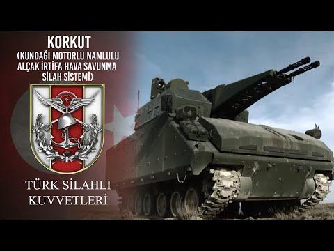 KORKUT (Kundağı Motorlu Namlulu Alçak İrtifa Hava Savunma Silah Sistemi)