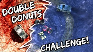 Double Donuts Challenge!!
