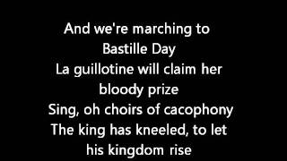 Rush-Bastille Day (Lyrics)