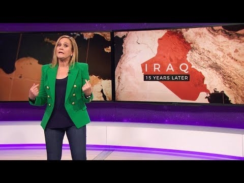Xxx Mp4 Iraq War 15 Years Later March 21 2018 Act 3 Full Frontal On TBS 3gp Sex