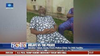 Senator Melaye Taken Away From Police Clinic To DSS Facility 11/01/19 Pt.2 |News@10|