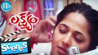 Lakshyam Movie - Anushka Shetty Introduction Scene || Gopichand || Sriwass || Mani Sharma