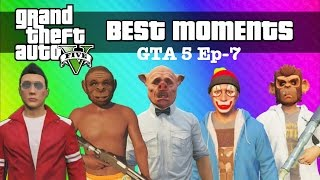 VanossGaming GTA 5 Online Best Funny Moments Ep-7 3Hours Vid | VanossGaming Funny time