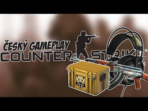 Český GamePlay | CS:GO - Deathmatch + Case Opening | HD - 720p