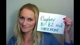 Video 465 Klagebrev B1-B2 nivå tekst skrevet av en student