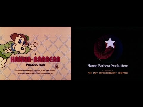 Hanna-Barbera Productions (1985) + The Pound Puppies credits