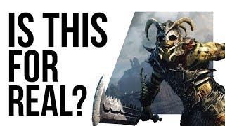Shadow of War ending LOCKED behind loot boxes or HUGE GRIND!?
