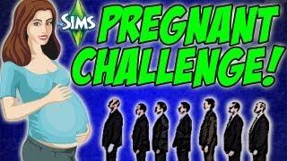Sims 3 Pregnant Challenge - Vaggy Sunshine Meets Werewolf #49
