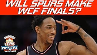 Will Spurs Make Conference Finals ? | Hoops N Brews