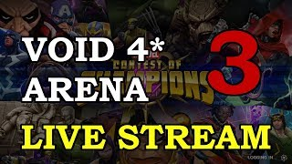 Void Arena - Part 3 | Marvel Contest of Champions Live Stream