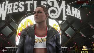 WWE 2K19 Ronda Rousey Offcial Entrance!