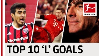 Top 10 Goals - Players With