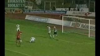 Jay Jay Okocha vs Kahn (Eintracht Frankfurt - Karlsruhe)