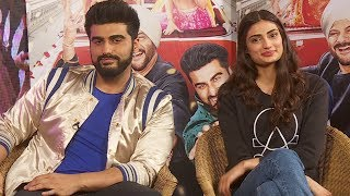Exclusive Arjun Kapoor And Athiya Shetty's Hilarious Chat With Pankhurie Mulasi For 'Mubarakan'