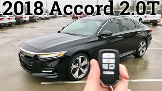 THIS is the Accord turbo you want | Honda Accord Touring 2.0T 2018