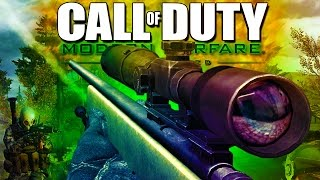 SNIPING Fools! - Call of Duty Modern Warfare Remastered!