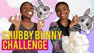 Chubby Bunny Challenge! | Deja and Di-V