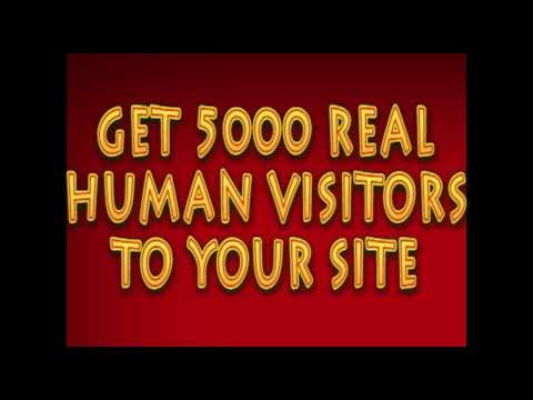 I will send you 5000 Traffic Human visitors To Your site for $5 Only On Fiverr