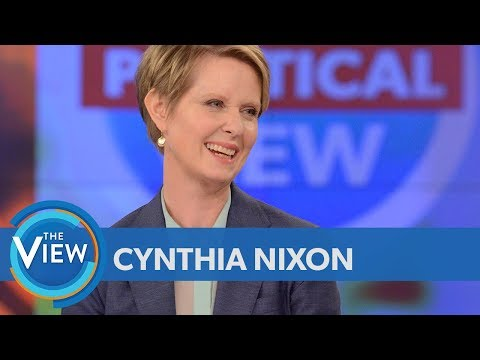Xxx Mp4 Cynthia Nixon On Whether Sex And The City Fame Will Help Or Hurt Her Candidacy The View 3gp Sex