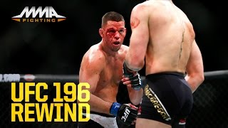 UFC 196 Rewind: Nate Diaz Submits Conor McGregor