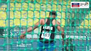 IRFAN SHAMSUDDIN | Olahraga | Lempar Cakera | KL 2017 | Astro Arena