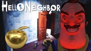 WAS GETTING THIS GOLDEN APPLE WORTH THE SECRET?! | Hello Neighbor (Alpha 4)