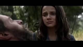 مشهد النهاية من فيلم LOGAN 2017 ... اتحداك ما تبكي|مؤثر جدا