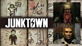 The Full Story of Junktown - Gizmo, Killian Darkwater, & The Skulz - Fallout 1 Lore