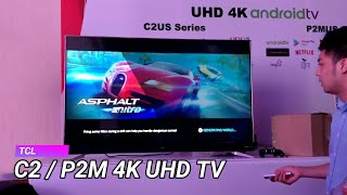 TCL C2 and P2M 4K UHD Android smart TV launched in India, price (Hindi)